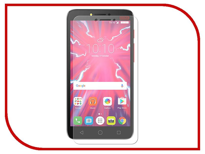 Аксессуар Гибридная защитная пленка для Alcatel Pixi 4 Plus Power 5023F 5.5 Red Line УТ000015297 смартфон alcatel pixi 4 plus power 5023f 16gb 16гб 1гб 32гб черный