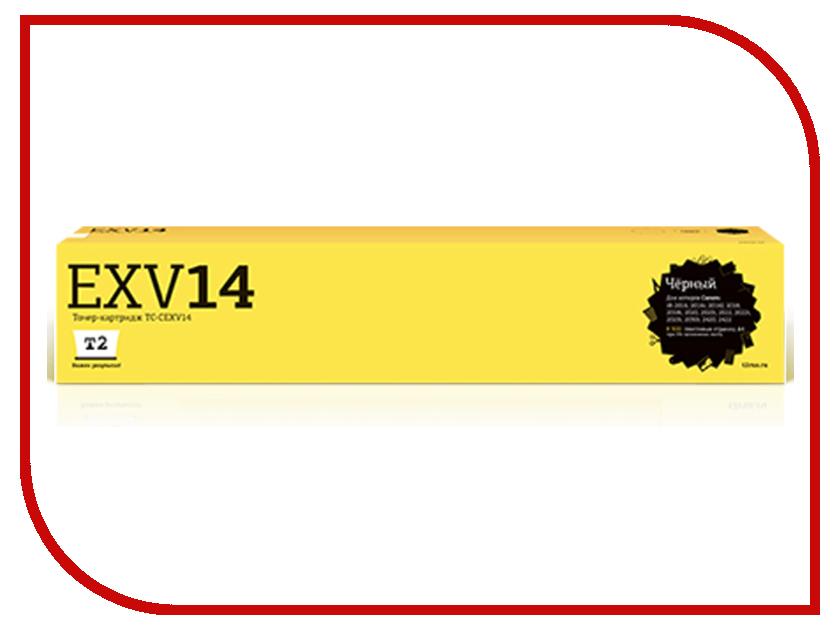 Картридж T2 TC-CEXV14 Black для Canon iR-2016/2016i/2016J/2018/2018i/2020/2020i/2022/2022i/2025i/2030i/2420/2422 1pcs guide delivery parts for canon ir2016 ir 2016 ir 2318l ir2318l 2020i 2320 2420d 2422n copier parts