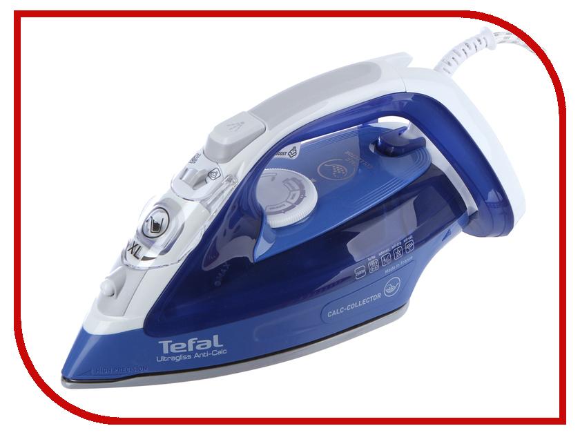 Утюг Tefal FV4964 Ultragliss Anti-calc утюг tefal turbo pro fv5630e0