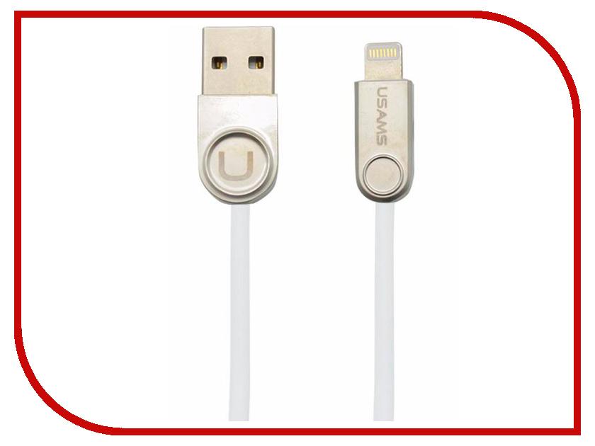 Аксессуар USAMS U-Ming Series US-SJ122 USB - Lighting (8-pin) White аксессуар usams us sj199 usb lightning 1 2m blue