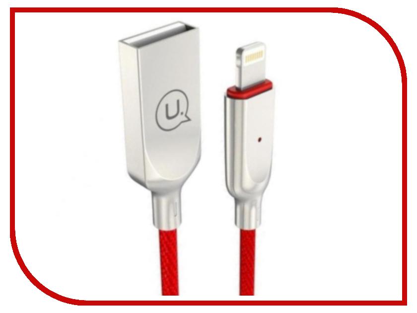 Аксессуар USAMS U-Sun Series US-SJ154 USB - Lighting (8-pin) 1.0m Red lacywear u 8 foy