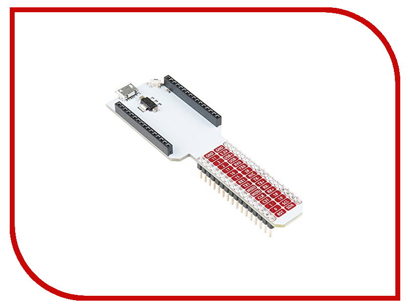 Конструктор Onion Breadboard Dock для Omega 2 Plus breadboard resistors leds learning module set for arduino nano multicolored