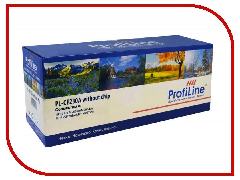 Картридж ProfiLine PL-CF230A для HP LJ Pro M203dn/M203dw/MPF M227fdw/MPF M227sdn 1600k