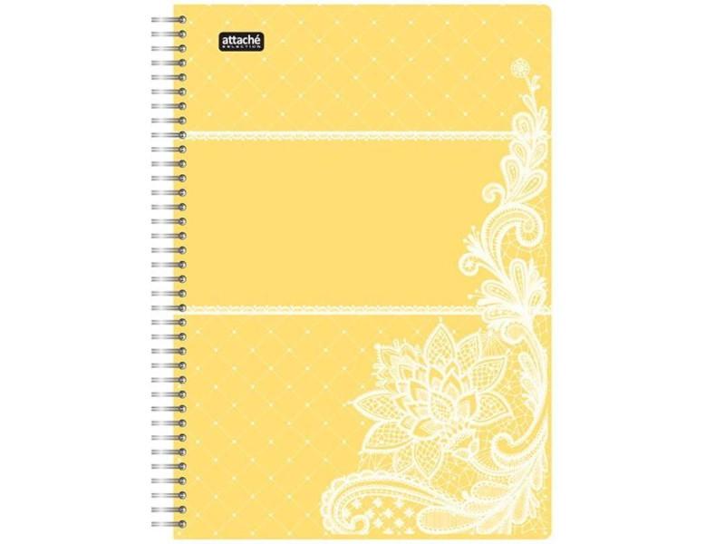 Бизнес-тетрадь Attache Selection Амели A5 80 листов Yellow 487294 тетрадь attache a5 80 листов 92278