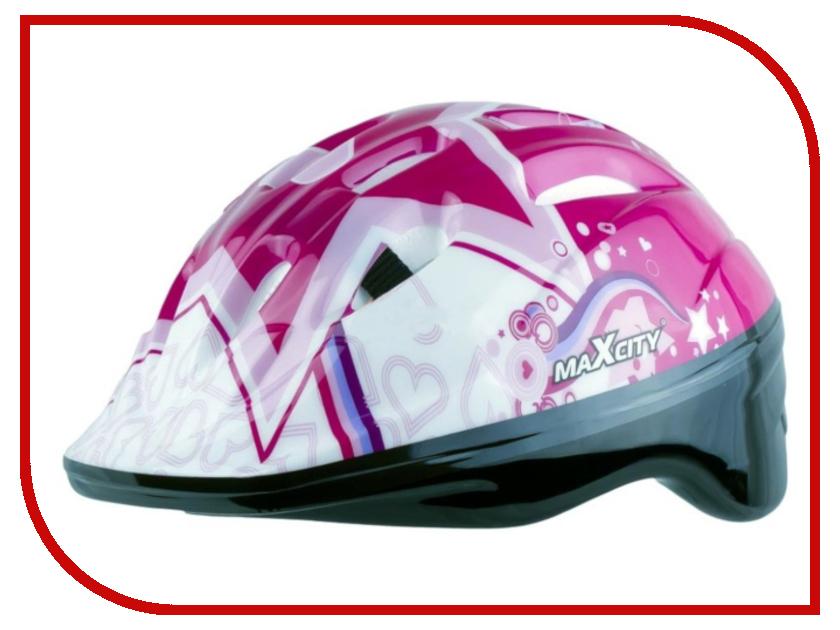 Шлем MaxCity Baby Star S Pink