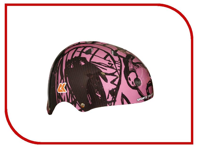 Шлем Спортивная Коллекция Artistic Cross M Pink
