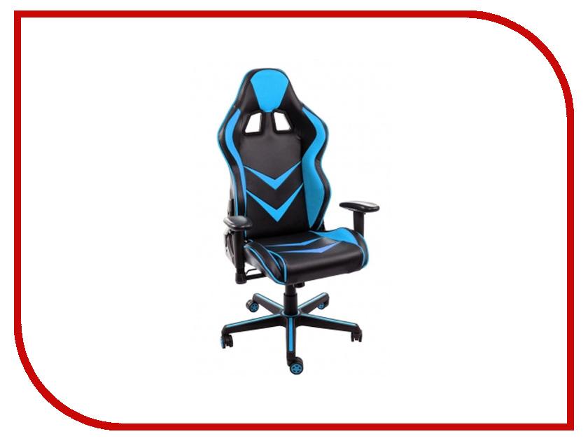 Компьютерное кресло WoodvilleRacer Black-Light Blue 1856