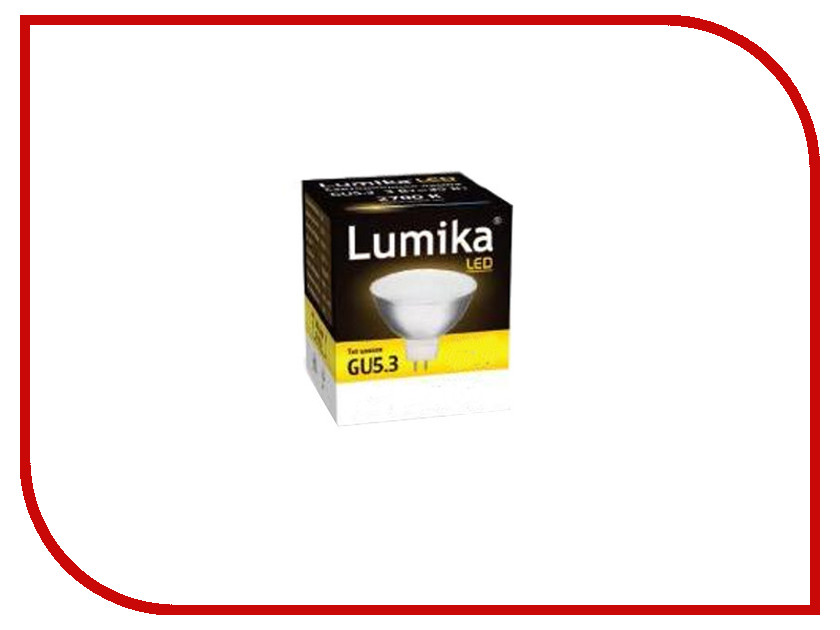 Лампочка Lumika MR16 GU5.3 2700K 4W
