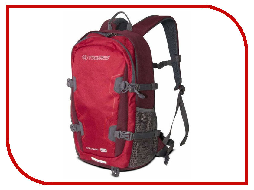 Рюкзак Trimm Escape 25L Red 51010 рюкзак trimm leman 45l black