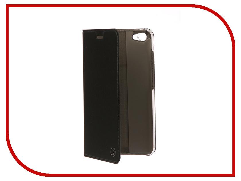 Аксессуар Чехол-книжка Xiaomi Redmi Note 5A DYP Casual Wallet Black DYPCR00044 чехол книжка dyp casual wallet для xiaomi redmi note 5a prime черный