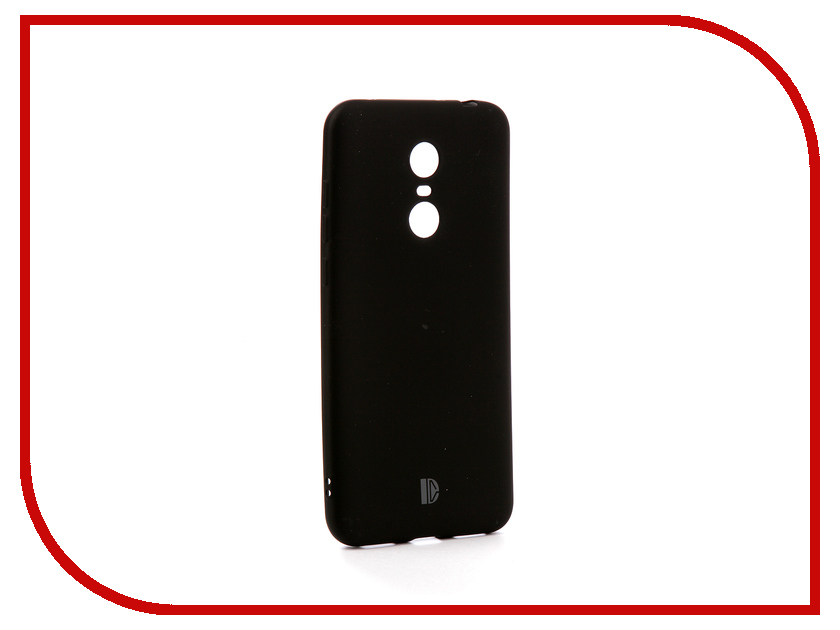 Аксессуар Чехол-накладка для Xiaomi Redmi Note 5 / Redmi 5 Plus DYP Toxic Cover Black DYPCR00058 for harley sportster xl883 1200 04 up black 5 3 4 cnc aluminum motorcycle headlight grill cover protector motorbike head
