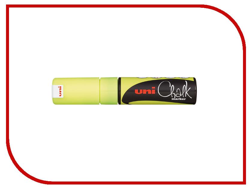 Маркер UNI Chalk Yellow PWE-8K uni uni t ut136b дешевый метр autoranging