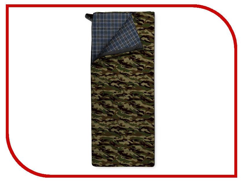 Cпальный мешок Trimm Tramp 195 R Camouflage 49456 cпальный мешок high peak pak 1600 23310