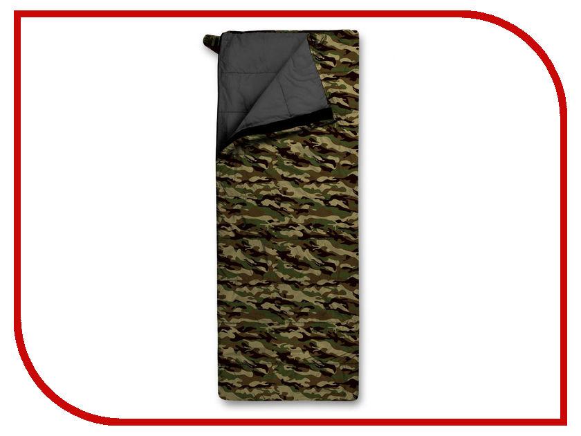 Cпальный мешок Trimm Travel 195 R Camouflage 49306 cпальный мешок high peak pak 1600 23310