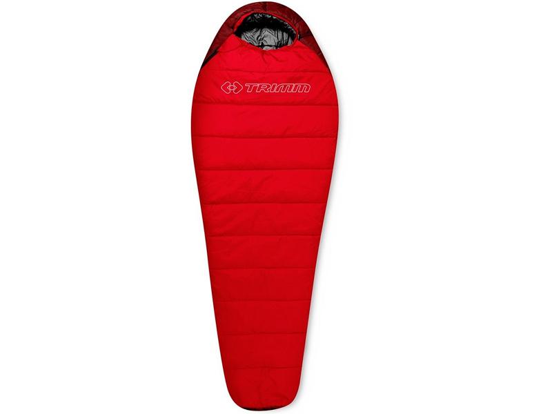 Cпальный мешок Trimm Sporty 185 R Red 50948 подушка trimm gentle camouflage 46931