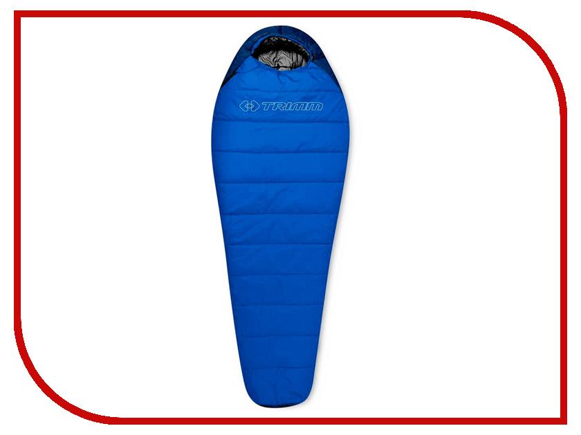 Cпальный мешок Trimm Sporty 185 R Blue 46265 cпальный мешок high peak pak 1600 23310