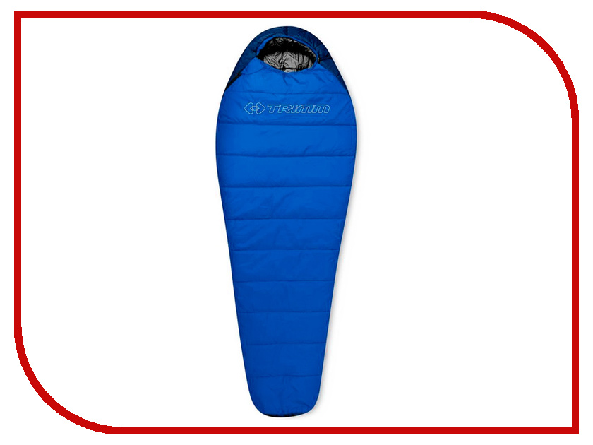Cпальный мешок Trimm Sporty 195 L Blue 46264