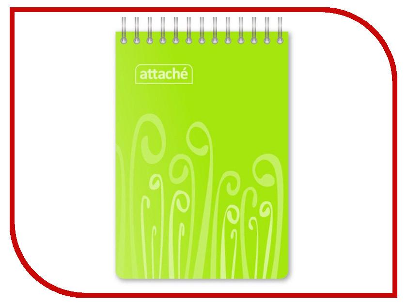 Блокнот Attache Fantasy A6 80 листов Light Green 309370 attache блокнот fantasy 80 листов формат а6 цвет зеленый