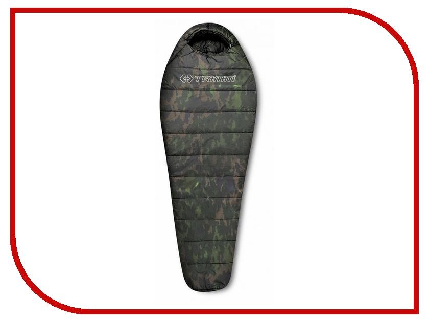 Cпальный мешок Trimm Traper 185 L Camouflage 45597 cпальный мешок high peak pak 1600 23310