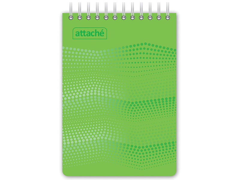 Блокнот Attache Waves A6 50 листов Green 98972 фото