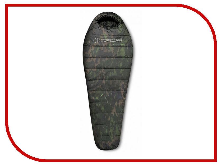 Cпальный мешок Trimm Traper 195 R Camouflage 45600 cпальный мешок high peak pak 1600 23310