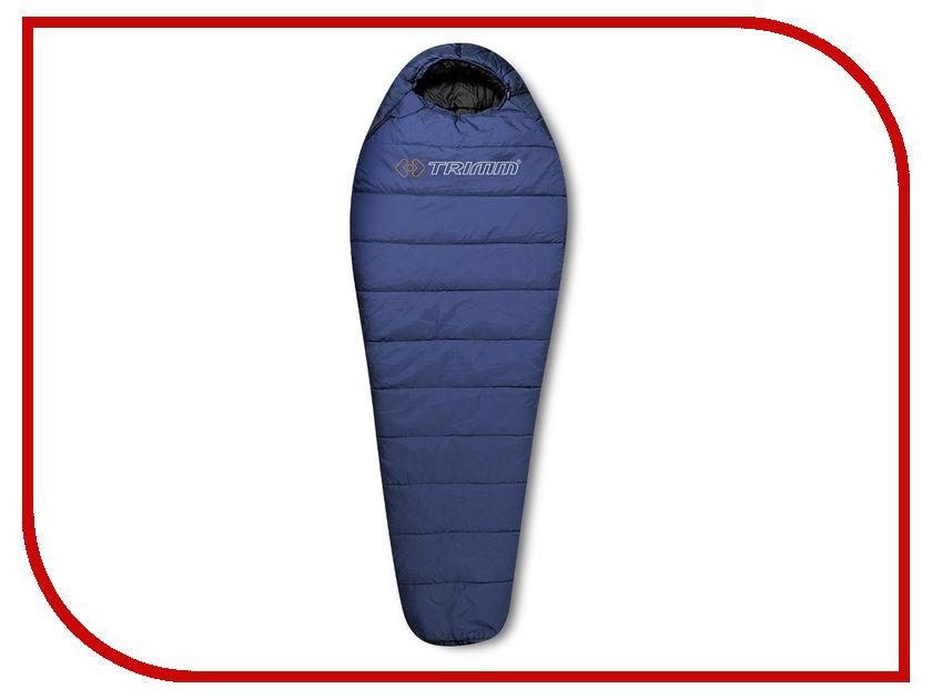 Cпальный мешок Trimm Traper 185 L Blue 44182 cпальный мешок high peak pak 1600 23310