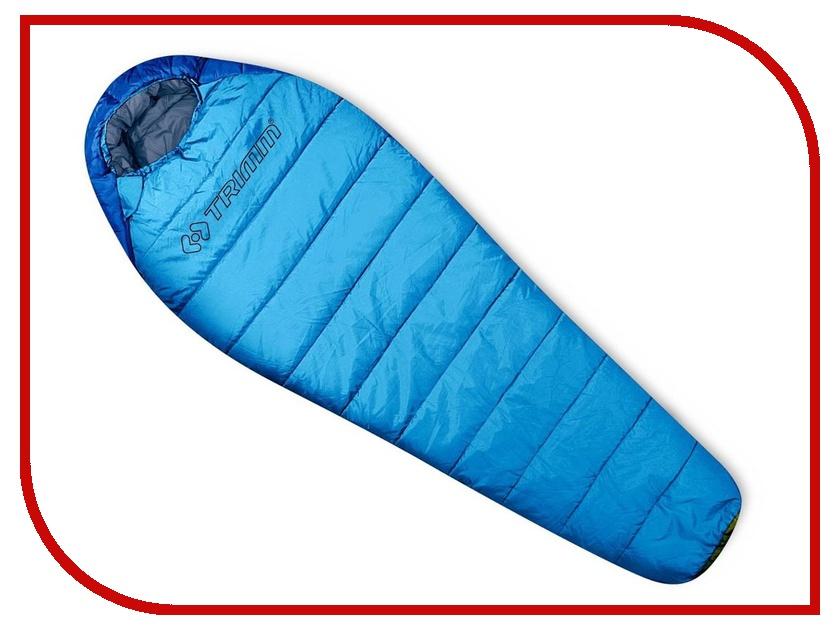 Cпальный мешок Trimm Walker 195 L Blue 50187 cпальный мешок high peak pak 1600 23310