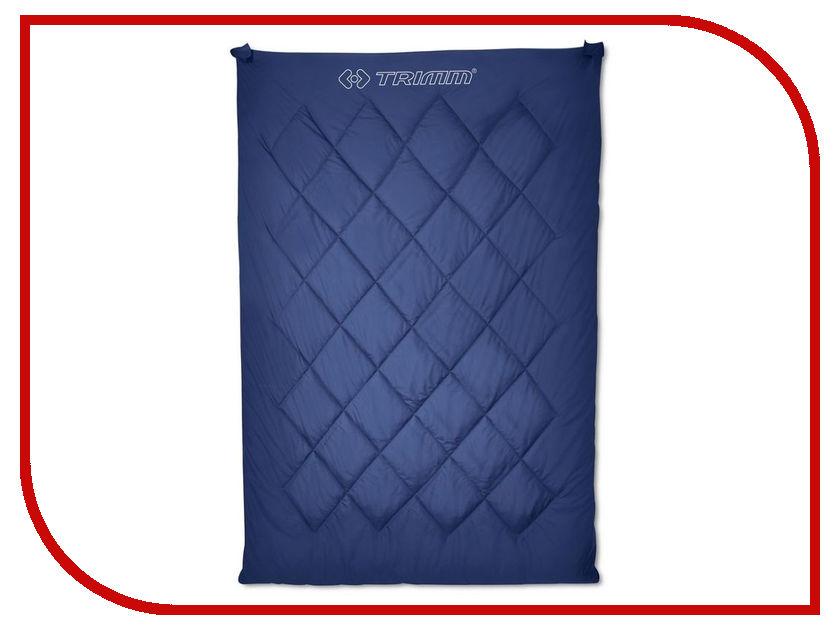 Cпальный мешок Trimm Twin 195 R Blue 51022 cпальный мешок high peak pak 1600 23310