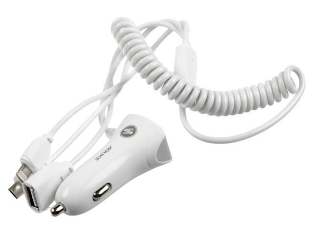 Зарядное устройство СИМА-ЛЕНД USB MicroUSB IPHONE White 3130965