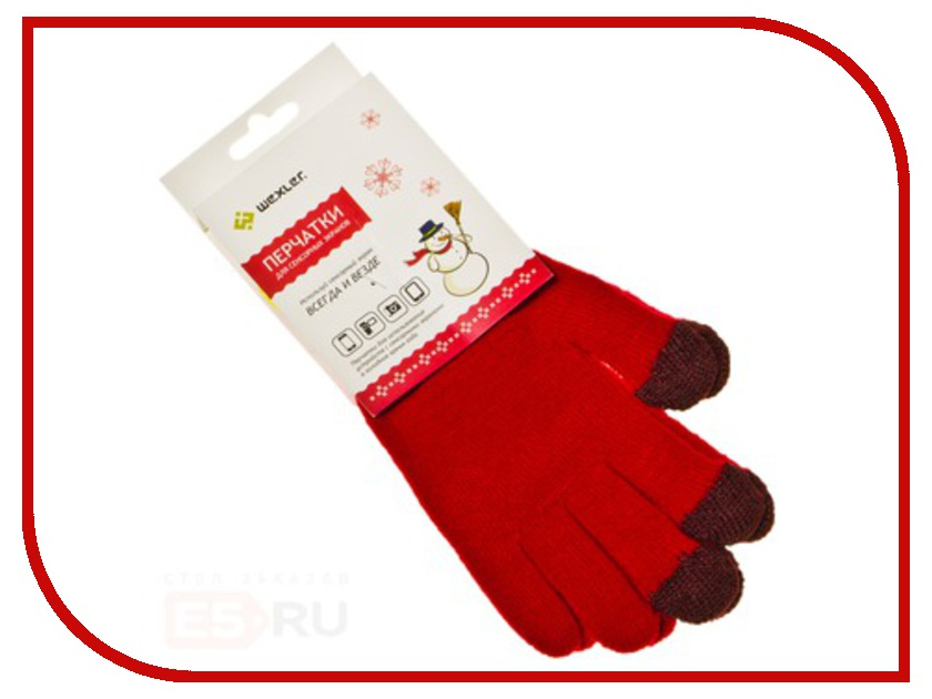 Теплые перчатки для сенсорных дисплеев Wexler Touchscreen Gloves S Red 125khz waterproof password lock rfid id card reader access entry control system