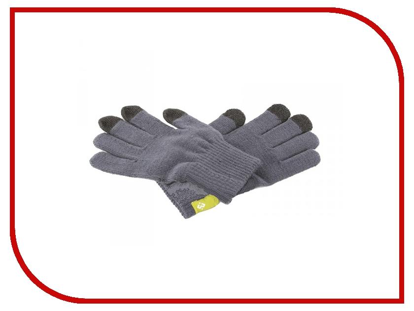 Теплые перчатки для сенсорных дисплеев Wexler Touchscreen Gloves S Grey