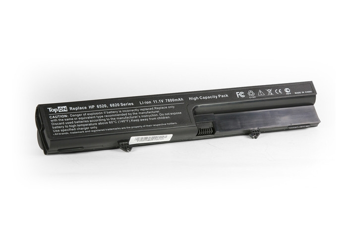 Аккумулятор TopON TOP-6520H 7800mAh – усиленный! for HP Compaq 540 / 541 / 6520s / 6530s / 6531s / 6535s