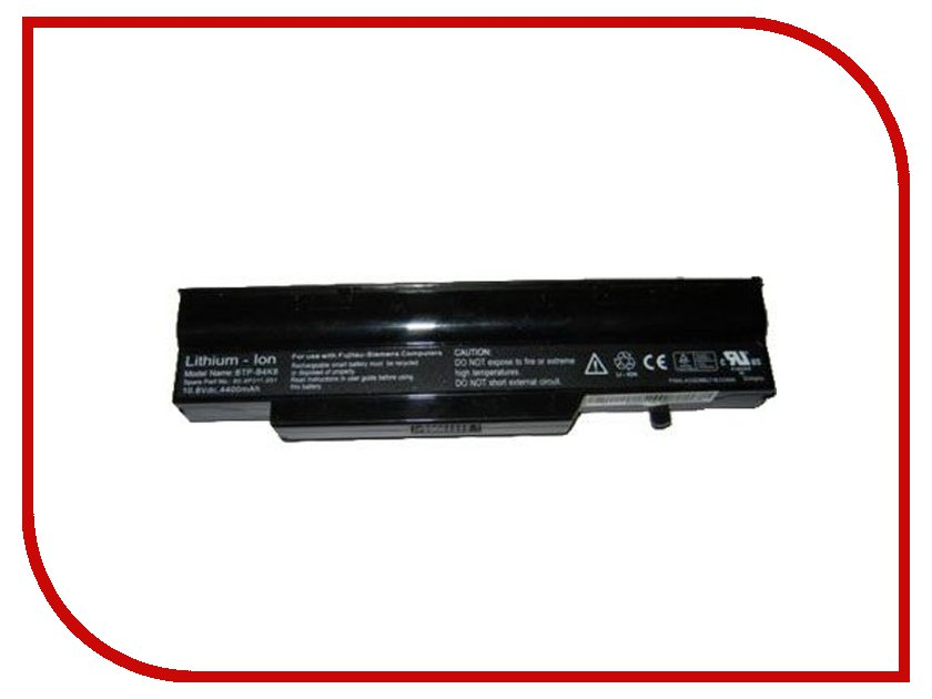 Аккумулятор TopON TOP-P1510 FPCBP101 4800mAh аккумулятор topon top clev2200 4800mah for clevo 2200 2700с 2800t iru intro 1214 roverbook b410 b415 kt5 kt6 series