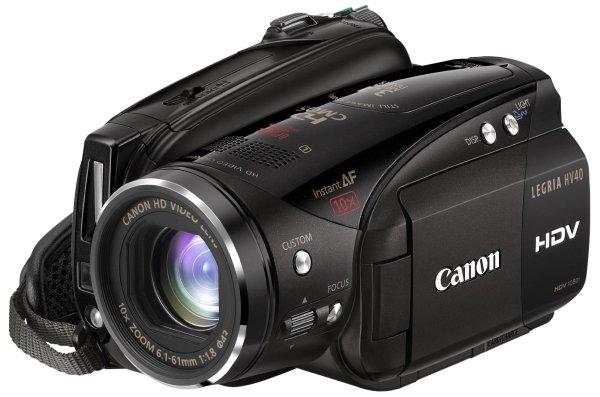 Видеокамера Canon Legria HV40*