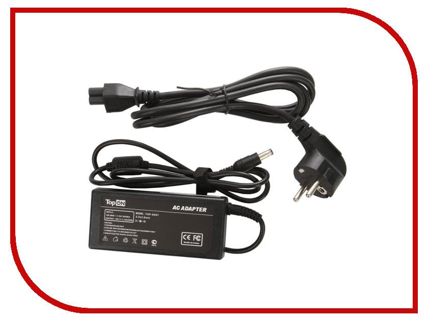 Блок питания TopON TOP-SA01 19V 60W for Samsung X05 / X10 / X15 / P30 / Q30 / Q35 / Q40 / Q45