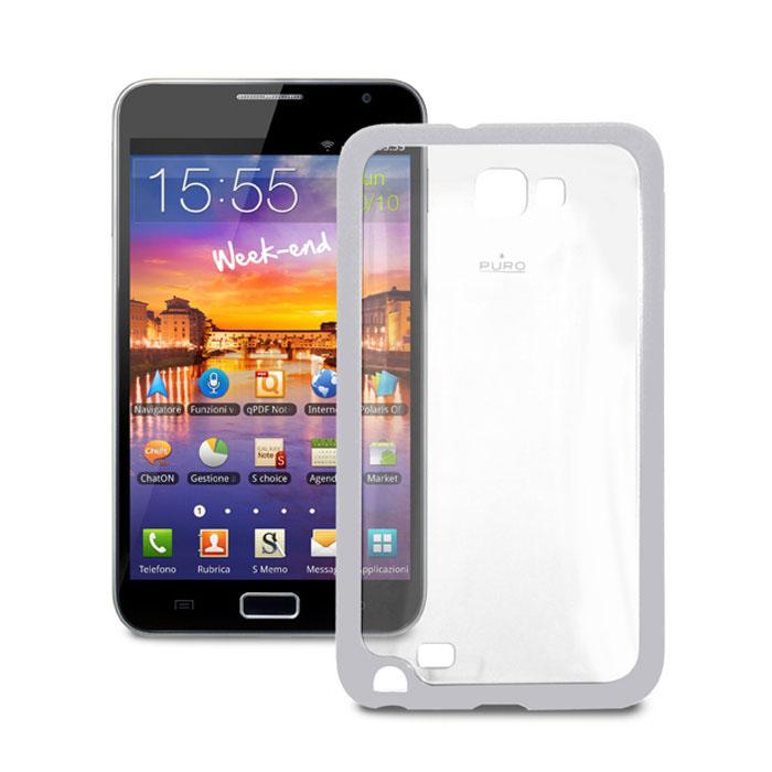 Аксессуар Чехол Samsung Galaxy Note PURO Clear Cover