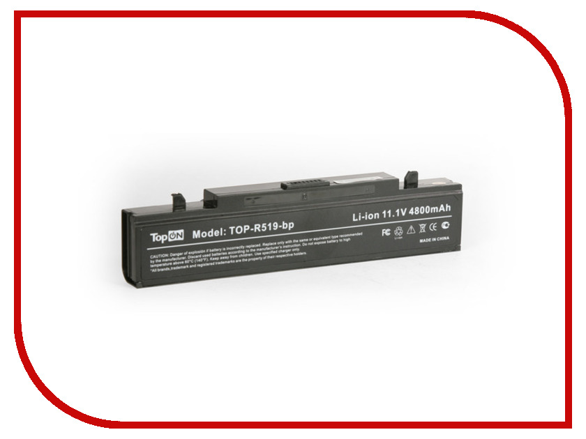 Аккумулятор TopON TOP-R519 / AA-PB9NS6B 11V 4400mAh / 4800mAh for Samsung R425 / R428 / R430 / R468 / R470 / R478 / R480 / R505<br>
