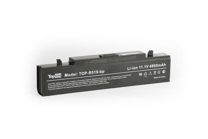 Аккумулятор TopON TOP-R519 / AA-PB9NS6B 11V 4400mAh / 4800mAh for Samsung R425 / R428 / R430 / R468 / R470 / R478 / R480 / R505