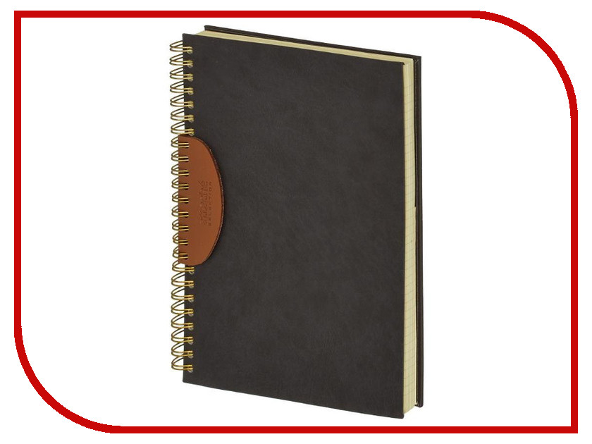 Бизнес-тетрадь Attache Selection Fiesta A5 80 листов Black 419961