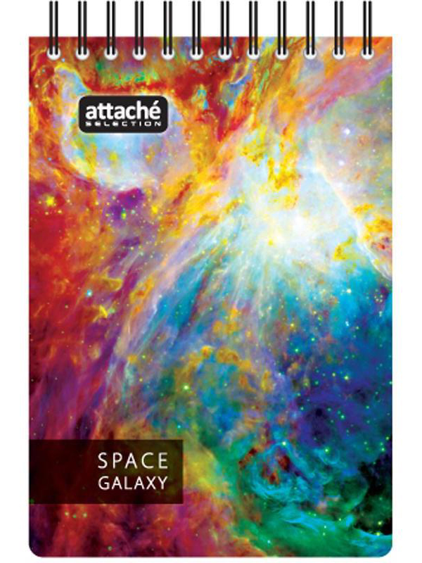 Блокнот Attache Selection Space Galaxy А6 120 листов White 487291