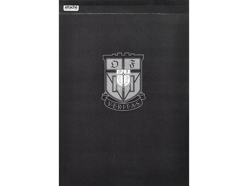Блокнот Attache Selection Dynasty B5 90 листов Black 419979