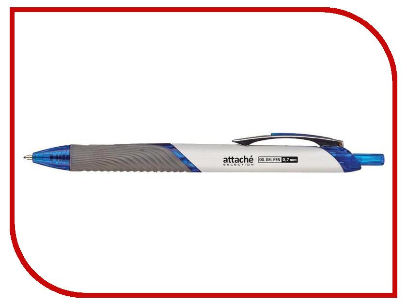 Ручка шариковая Attache Selection Blue 480459 ручка шариковая attache bo bo blue 131233