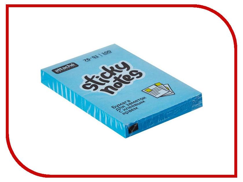 Фото - Стикеры Attache Selection 76x51mm 100 листов Blue 383712 стикеры для стен chinastyler 60 92 diy month1