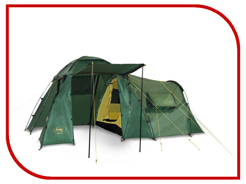 Палатка Canadian Camper HYPPO 3 Forest палатка canadian camper tanga 3 цвет royal дуги 9 5 мм