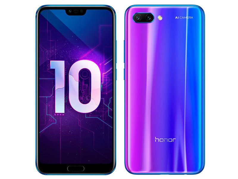 Сотовый телефон Honor 10 64Gb Blue сотовый телефон asus zenfone 5 ze620kl 4 64gb midnight blue