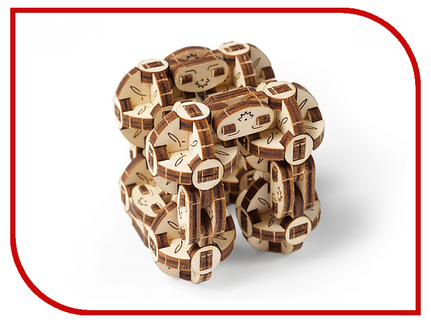 3D-пазл UGears Сферокуб ugears конструктор 3d пазл сферокуб