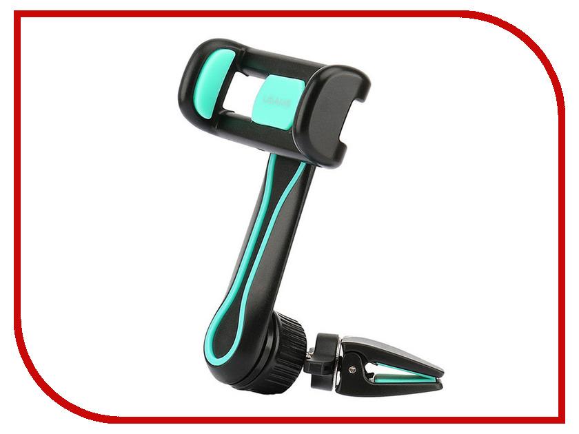 Держатель USAMS FX Series US-ZJ012 Black usams protective pu leather flip open case for iphone 5c blue