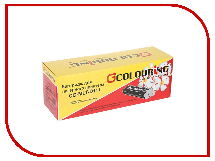 Картридж Colouring CG-MLT-D111L для Samsung Xpress M2020/M2022/M2070 1800k картридж profiline pl mlt d111s для samsung xpress m2020 m2022 m2070 1000k