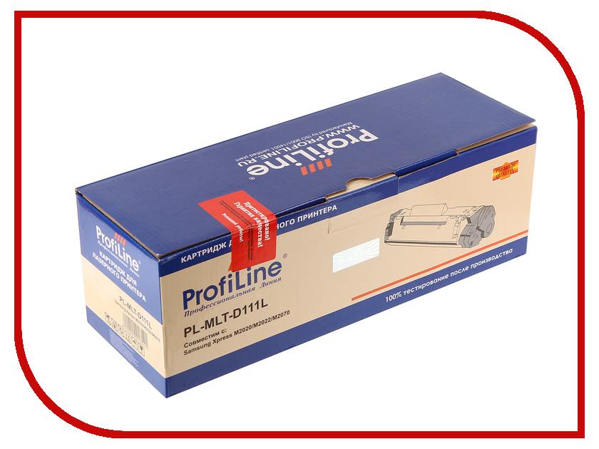 Картридж ProfiLine PL-MLT-D111L для Samsung Xpress M2020/M2022/M2070 1800k картридж nv print samsung mlt d111s для xpress m2020 m2020w m2070 m2070w m2070fw 1000k