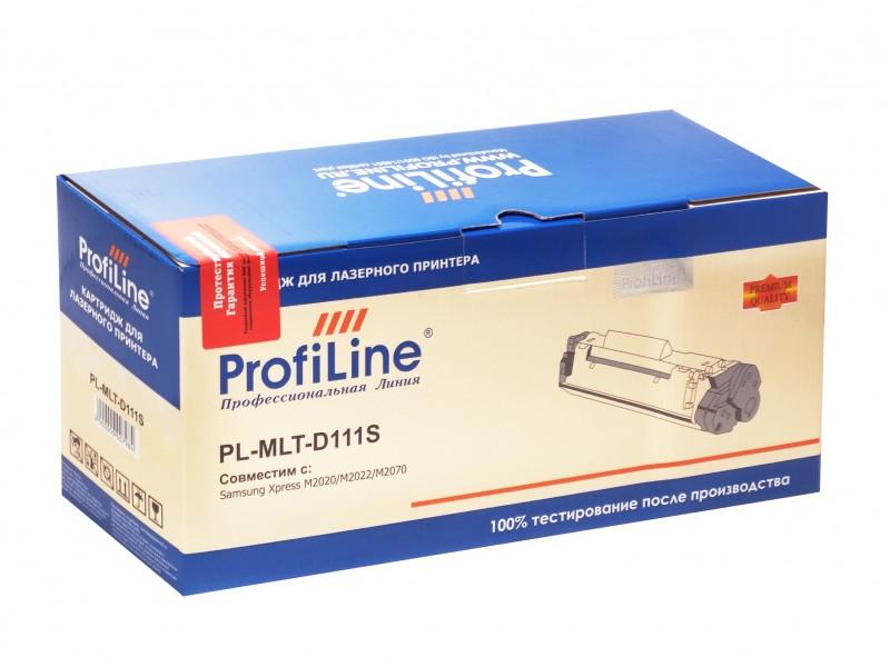 Картридж ProfiLine PL-MLT-D111S для Samsung Xpress M2020/M2022/M2070 1000k цена